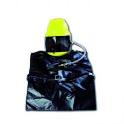 Emitters hjälm P4 - med läderkroppsskydd