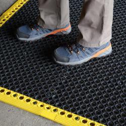 Arbetsplatsmatta yoga Grid® - 50 x 50 cm - tjocklek 16 mm - PVC