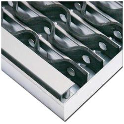 Vinkelram för smutsfälla mat - KoBe ™ - lämplig för 58,5 x 38,5 till 158,5 x 78,5 cm - tjocklek 22 mm - för inomhus och utomhusbruk\n