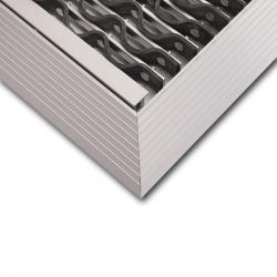 Ram fasad för smutsfälla mat - KoBe ™ - passar 58,5 x 38,5 till 158,5 x 78,5 cm - tjocklek 22 mm - för inomhus och utomhusbruk\n