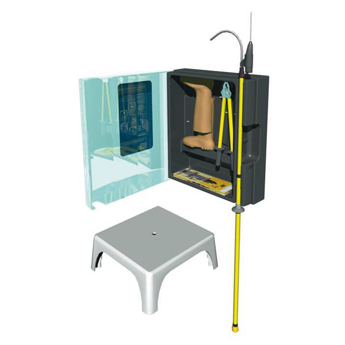 Erste Hilfe Set - für Elektrounfälle