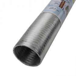 Aluminium-Flexrohr - 1-lagig - nicht brennbar - Länge 2,5 m - bis 350 °C