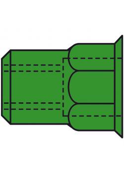 Nit nakrętki GESIPA® - A4 stal nierdzewna częścią sześciokątnym - mała głowa