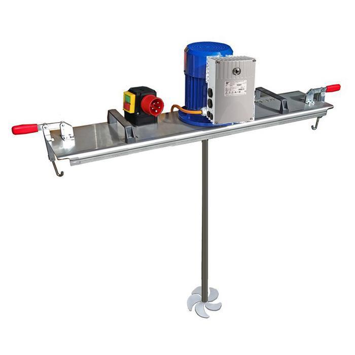 Schnellmischer - für IBC 1000 Liter & Medien bis 600 mPas.