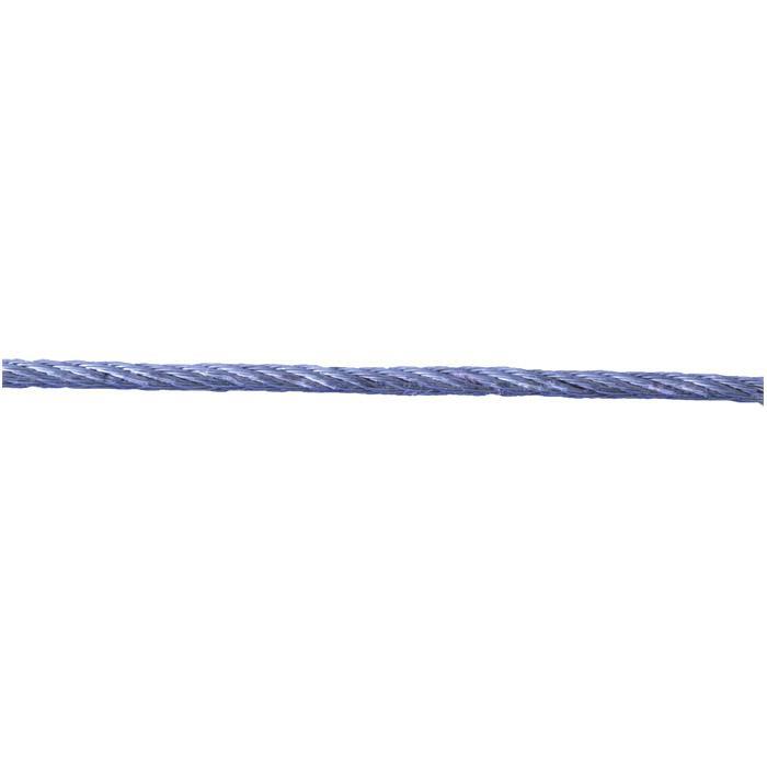 Stahldrahtseil - verzinkt - DIN 3055 - 42-drähtig - auf Spule - Preis per Rolle