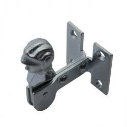 Slutarlås - galvaniserad - 25 x 35 mm - för skruvning - paket med 5