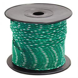 Maurerschnur - polypropylene - green / white - Ø 2 mm - length 600 m (6x 100m)