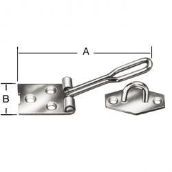 Drahtüberfalle - Stahl - verzinkt - 10 Stück - Preis per VE