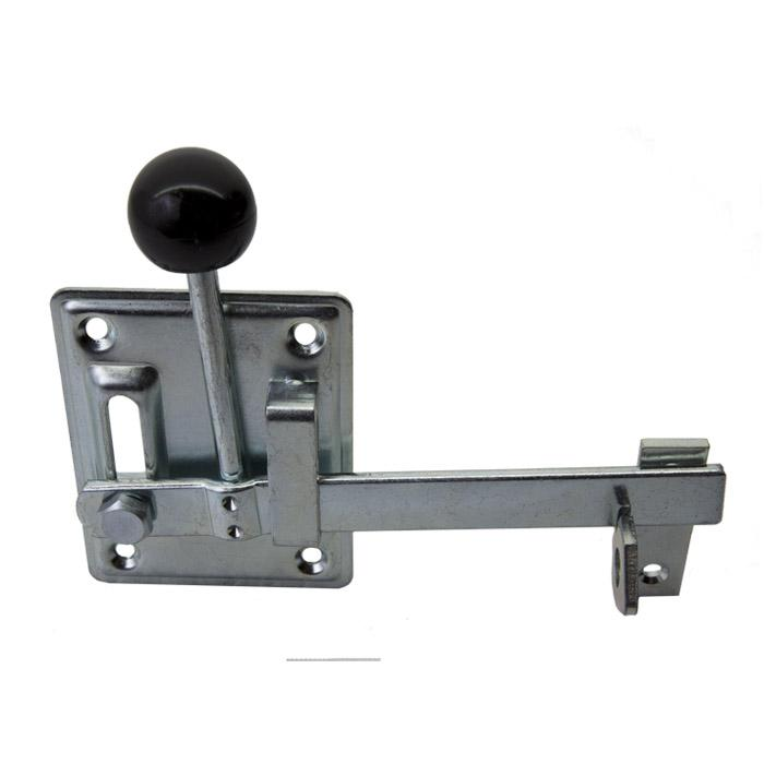 Gartentorfalle - Typ 1 - rechts und links verwendbar - Verstellbereich 40 mm - Preis per Stück