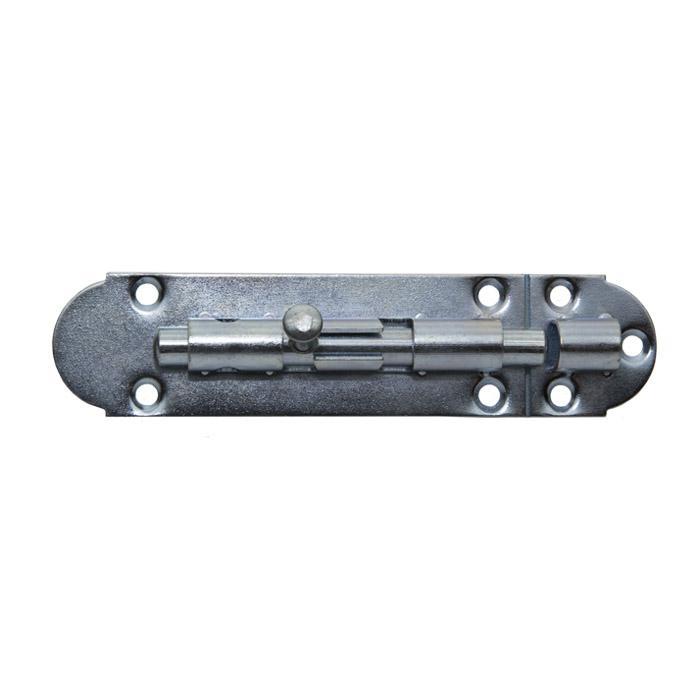Grendelstång - stål - galvaniserad - med kombinerad slinga - 10 delar - pris per förpackning