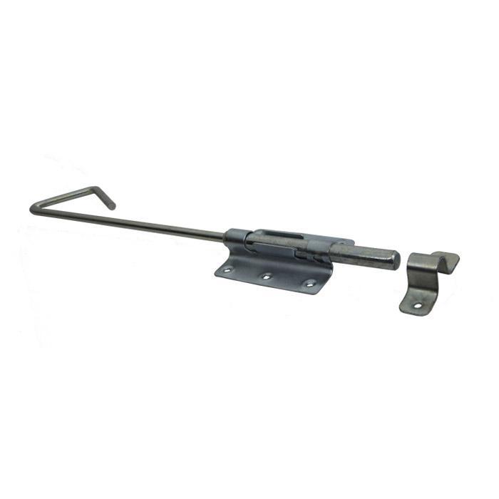 Bult och bult bultar - galvaniserade - 5 delar Bult och bult bultar - stål - galvaniserad - tjocklek 2 mm - med slinga och slagplatta - paket med 5 - pris per paket