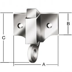 Oberlichtschnäpper - galvanisé - 20