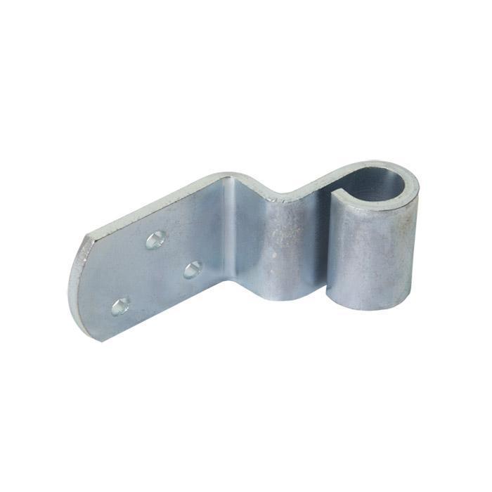 Flätad stakettejp - stål - L-form - för dorn Ø 10 mm - galvaniserad - pris per PU