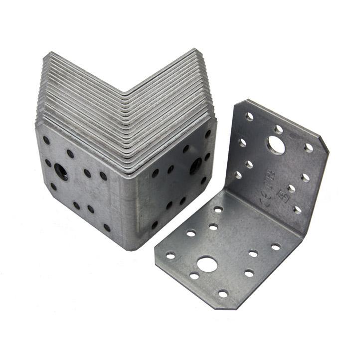 Winkelverbinder - mit Sendzimir-Unterverzinkung - Stärke 2 oder 2,5 mm - Preis per VE
