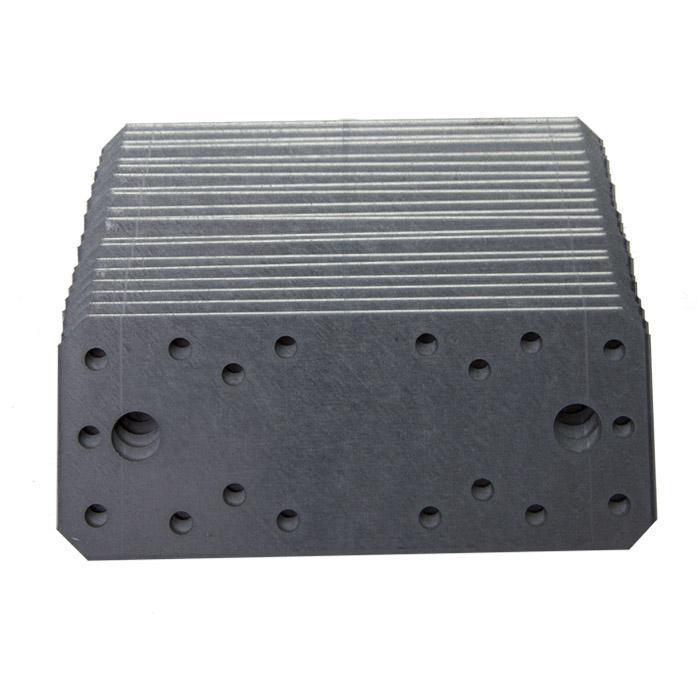 Flachverbinder - Stahl oder Edelstahl (V2A) - CE-Kenzeichnung - Preis per VE