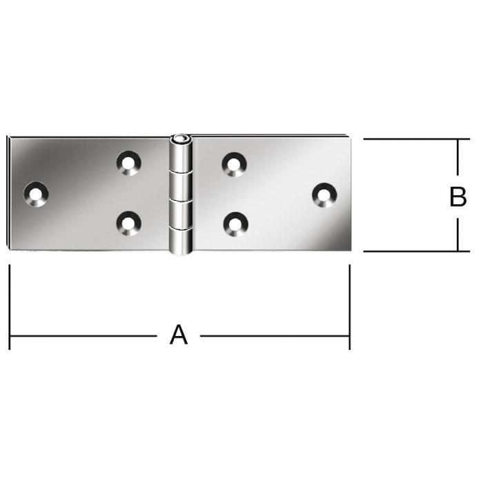 Tischband - DIN 7958 - geschlagen - breit - 20 Stück