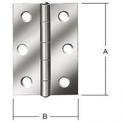 Hinge - rolled - heavily - galvanized