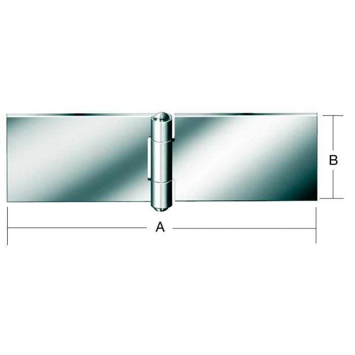 Tischband  - breit - gerollt - ungebohrt - 1 Stück oder 20 Stück