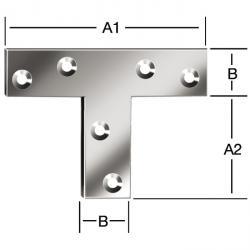 T-låg vinkel - galvaniserad