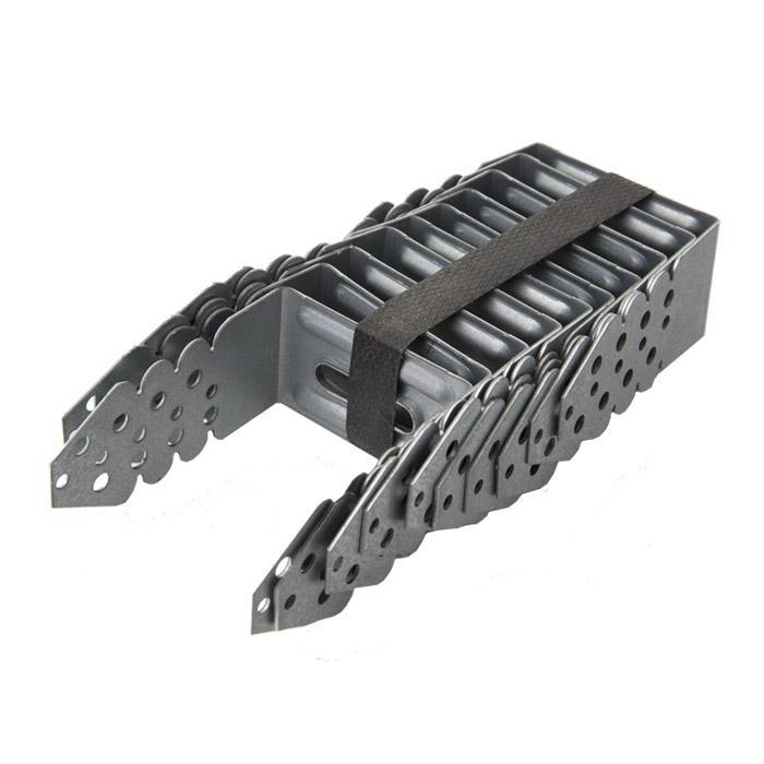 Universal-Abstands-Verbinder - sendzimir verzinkt - VE 60 Stück - Preis per VE