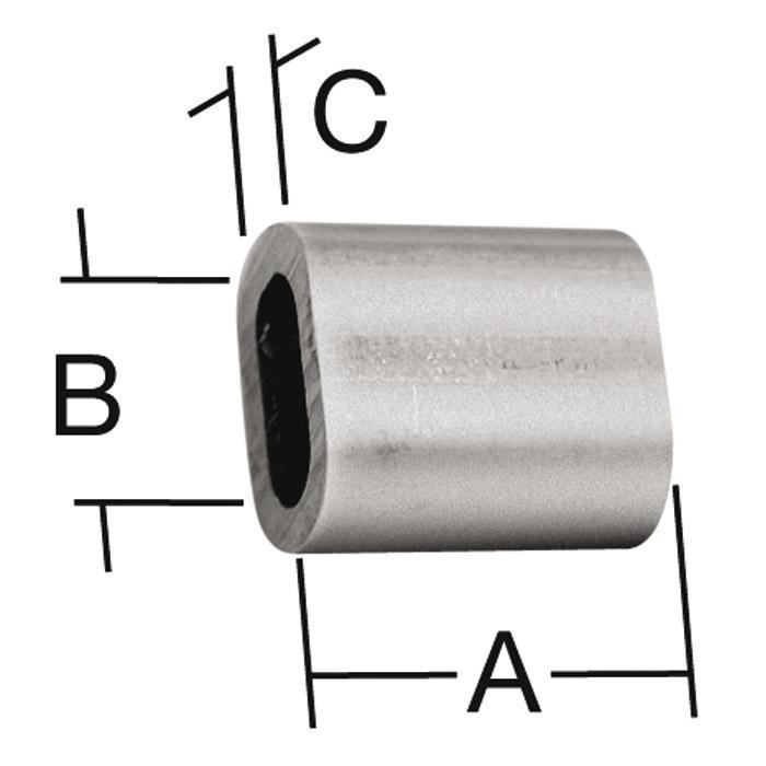 Pressklemme - Aluminium - SB-verpackt - Preis per VE