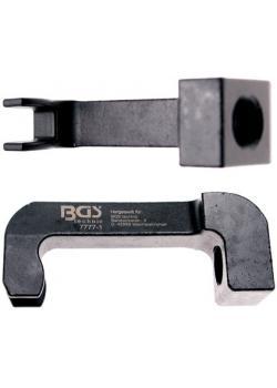 Injektor-Ausziehklaue - Klauenabstand 12 mm (innen) - Klauenhöhe 17 mm