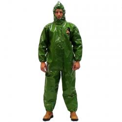 Skyddsdräkt - Zytron®400 - kategori III typ 3,4,5,6 - grön