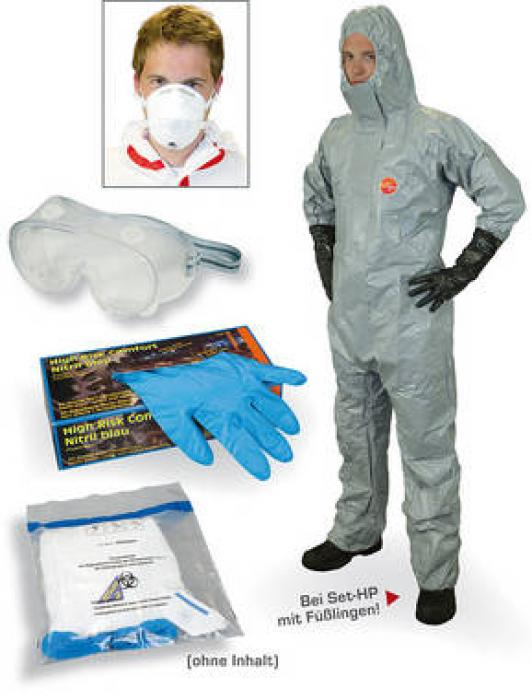 "Infektionsschutzset ""High"" - Bio Schutzstufe 2 + 3"