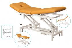 Behandlungsliege - C 406 - dreiteilig - Dachstellung