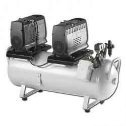 JUN-AIR Kompressor Modell 2xOF1202-15 0B - 260 l/min