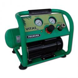 Montage Kompressor Prebena Vitas 45 - 10 bar - 24 l/min - ölfrei - tragbar