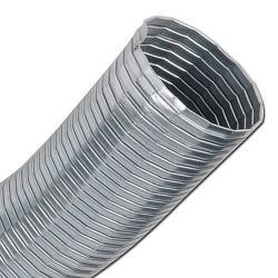 Avgasslang - förzinkad - till 400°C - inner-Ø 20-300 mm - glasfiber
