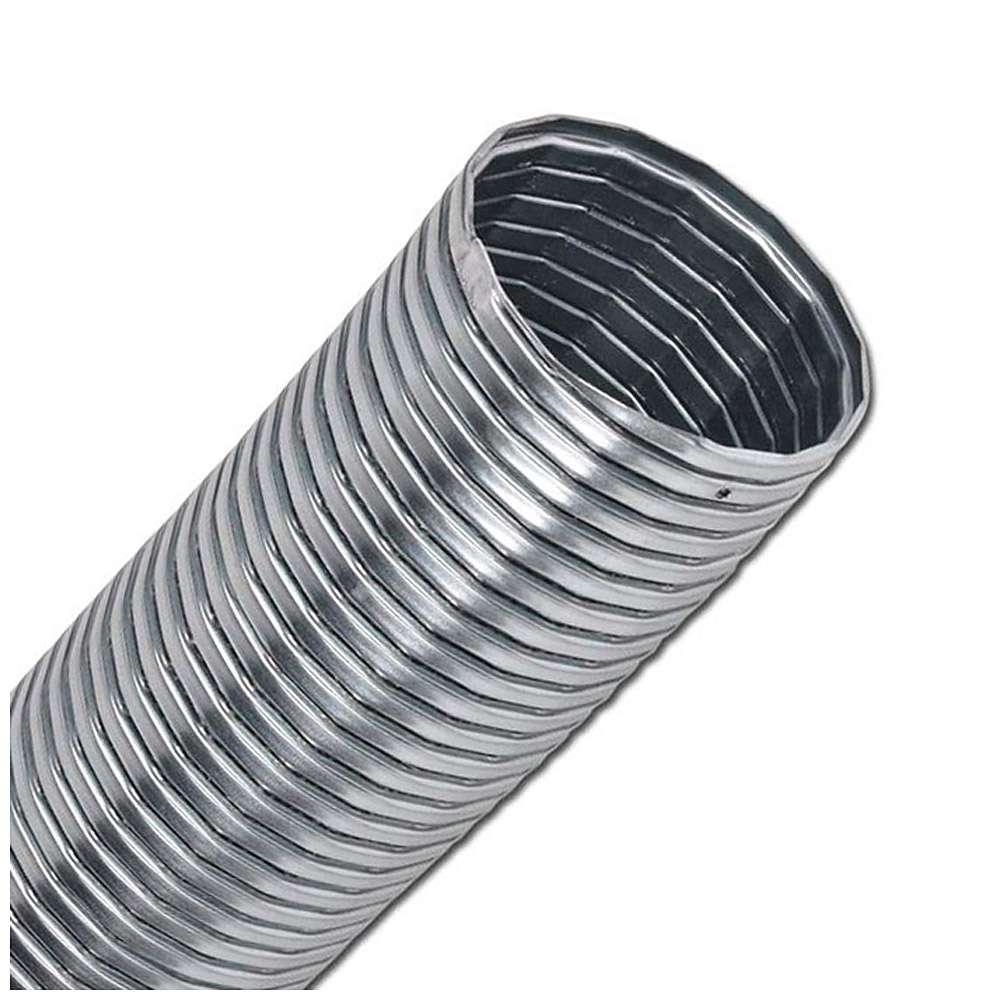 Transportslang - förzinkat stål - 10/5/1 m - gummitätning