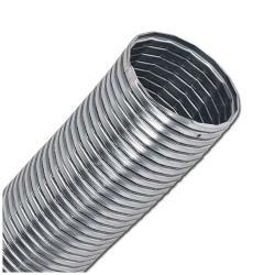 Metallschlauch - Stahl verzinkt - Innen-Ø 50 bis 300 mm- Außen-Ø 58,5 bis 315 mm - Gummidichtung - Betriebstemperatur +60 °C - Preis per Stück