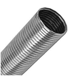 Metallschlauch - Edelstahl - Gummidichtung - Innen-Ø 50 bis 300 mm - Außen-Ø 58,5 bis 315 mm - Preis per Stück