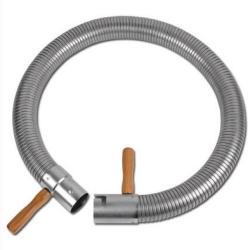 "Abgasschlauch ""Typ SD-S-E"" - Stahl feuerverzinkt - DN 47 - Innen-Ø - 50 mm - Außen-Ø - 52 mm - Preis per Stück"