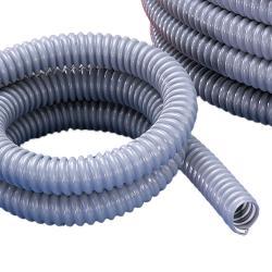 Kabelskyddsslang - PVC - flexibel - 70°C - inner-Ø 7-48 mm