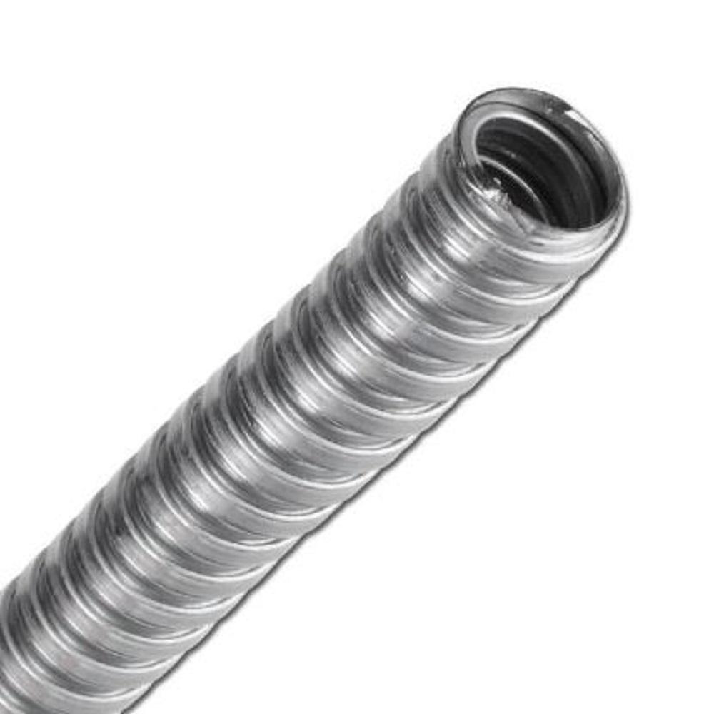 """Schutzschlauch """"SG-S-O"""" - Stahl verzinkt - bis 400°C - Innen-Ø 4 bis 51 mm - Länge 10 Meter - Preis per Stück"""