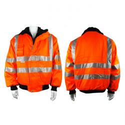 """Giacca segnaletica """"Gustav"""" - colore arancione"""
