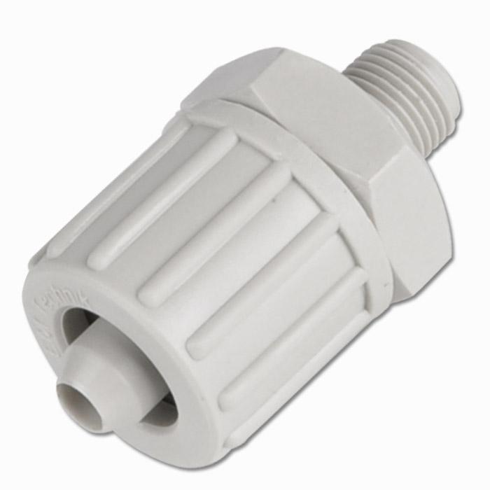 Einschraubverschraubung für Gewebeschlauch TX PP - bis 10 bar - gerade