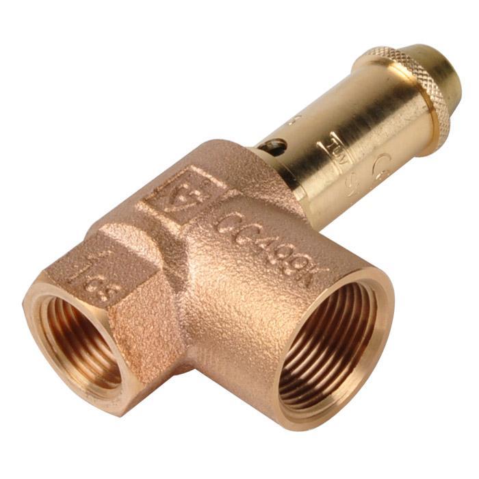 Gut bekannt Sicherheitsventil (TÜV) - Wasserheizungsanlagen - Rotguss - 2,5 u EV53