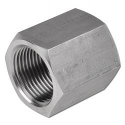 """Muff - rostfritt stål - 2 x innergänga - 1/8"""" till 1 1/2"""" - PN till 350"""