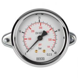 Manomètre - classe 2,5 - Ø 40-100 - prélèvement derrière la zone de mesure jusqu
