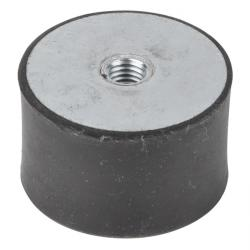 Rubber Bonded Metal With Female Thread