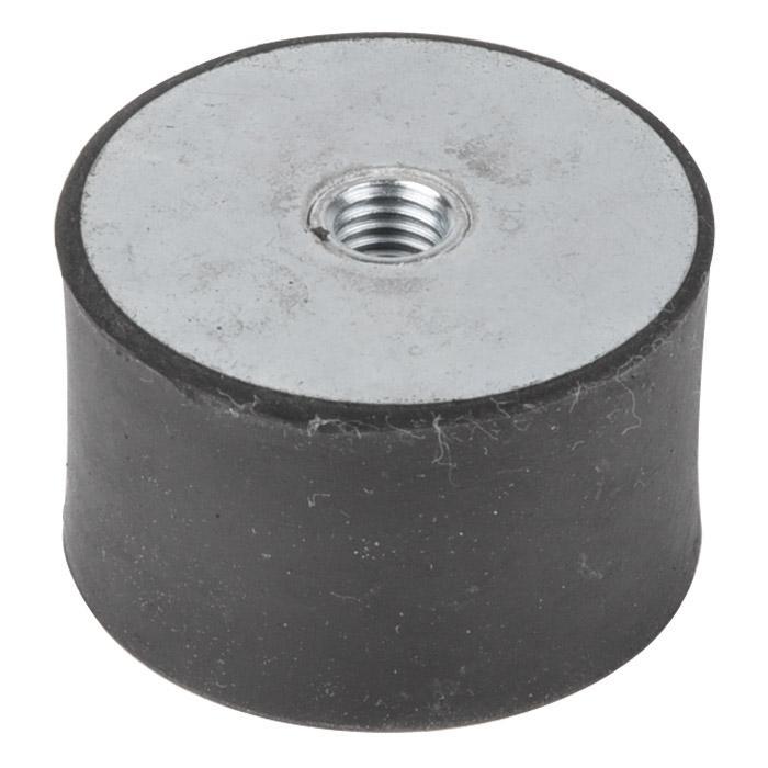 Schwingungsdämpfer - NBR - Ø 40 - 75mm - Innengewinde M8-M12