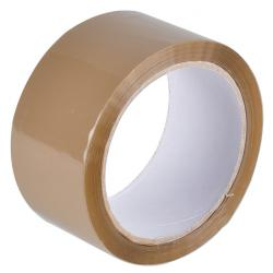 "Packband  ""Braun"" - selbstklebend - 50 mm x 66 m"