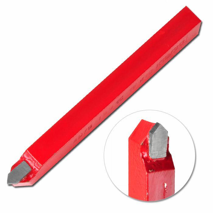 Svarvstål - spetsigt - längd 100-170 mm - HM-sort K 10/20