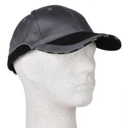 """Keps """"JOHN"""" - 65% bomull/35% polyester - grå/svart - justerbar"""