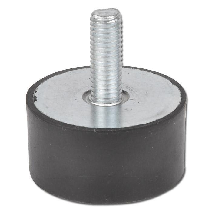 Schwingungsdämpfer - Modell D - mit Gewindestift einseitig