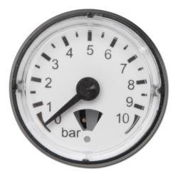 Manomètre - classe 4,0 - Ø 23 - prélèvement derrière la zone de mesure jusque 16